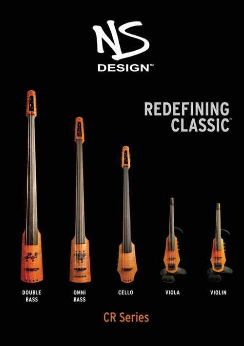 Ns Design Cr5 Radius 5 String Bass Amber Satin
