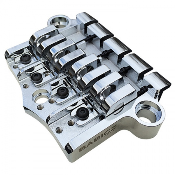 Babicz FCH 3PT 4 String Bridge (Gibson Style) - Chrome