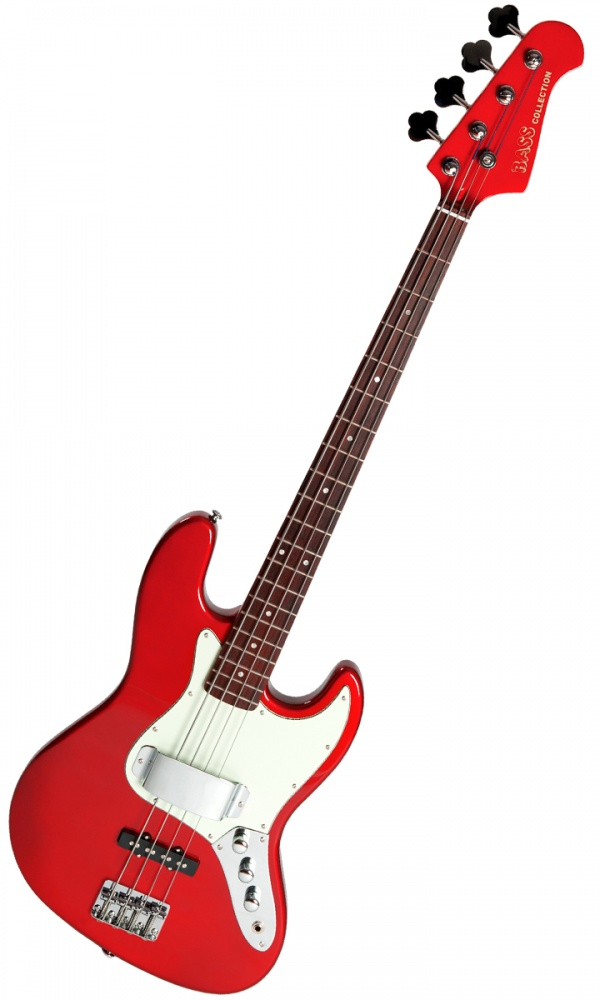 Bass Collection Jive Bass - Guards Red