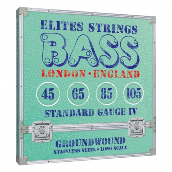 Elites Groundwound 4 String Set