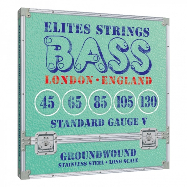 Elites Groundwound 5 String Set