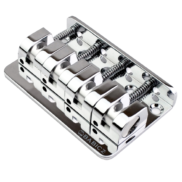 Babicz FCH Z Series 4 String Bridge - Chrome