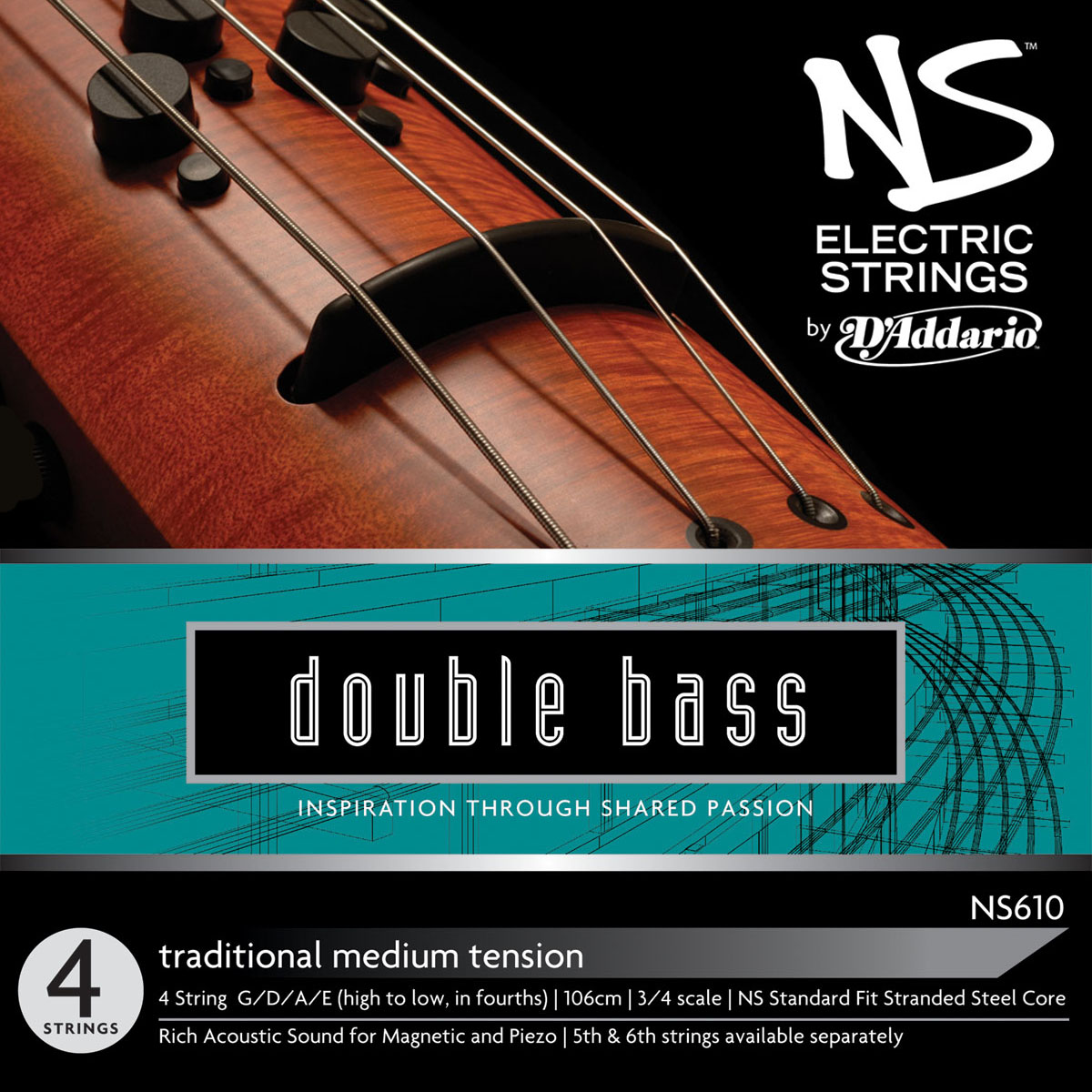 NS610 Traditional Double Bass Strings